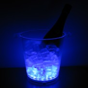 Flashing Ice Bucket Blue Wholesale