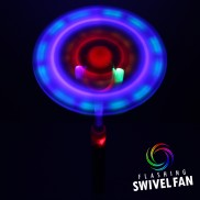 Flashing Swivel Fan