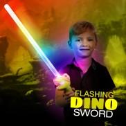 Flashing Dinosaur Sword