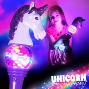 Flashing Unicorn Spinner