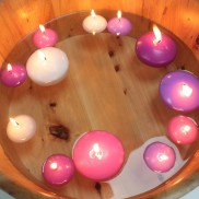 Large Floating Candles
