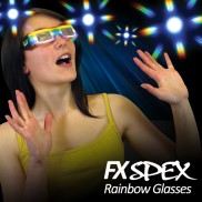 FX Spex Rainbow Glasses Standard (10 Pack)