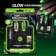Glow in the Dark Ultimate Make Up Kit