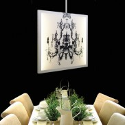 Glo-canvas Double Sided Chandelier