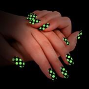 Glow Polka Dot Nail Foils