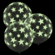3ft Giant Glow Star Balloons (2 Pack)