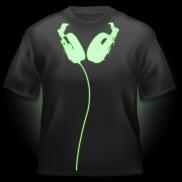 Glow Headphones T-Shirt
