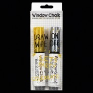 Gold & Silver Window Chalk