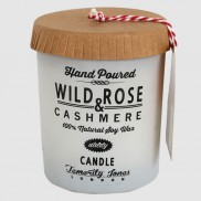 Hand Poured Wild Rose & Cashmere Candle