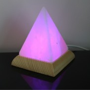 Himalayan Salt USB Pyramid Lamp (27102)
