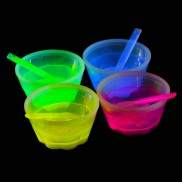 Glow Ice Cream Cups (4 Pack)