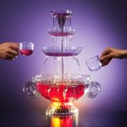 Illuminated Drinks Fountain