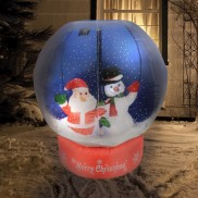 Inflatable 4ft Animated Snow Globe
