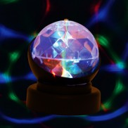 LED Revolving Crystal Ball