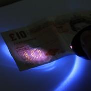 Keyring Personal Alarm & UV Light