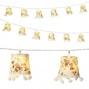 Truly Scrumptious Lampshade String Lights