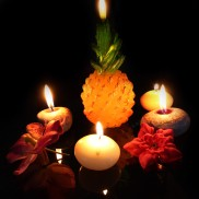 Large Pineapple Candle