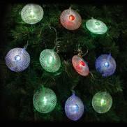20 LED Mesh Disc String Lights