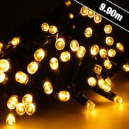 100 LED Warm White Connectables