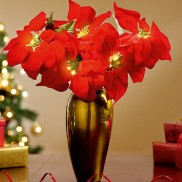 LED Poinsettia