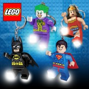 DC Lego Super Hero Keyring Lights