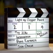 Light Up Clapperboard
