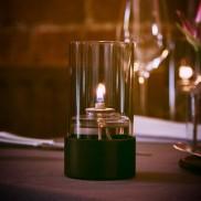 LightMe Black Dusted Lamp