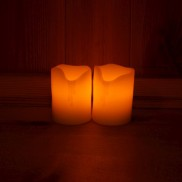 2.5 Inch Melted Look Smart Candles