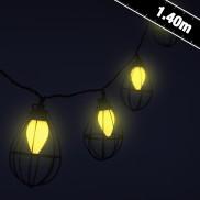 Metropolis Industrial String Lights
