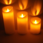 Moving Flame Candles (3 Pack)