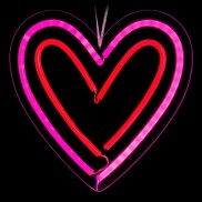 Neon Lights LED Heart