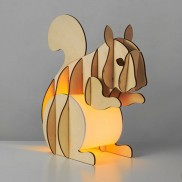 Nutty Squirrel Table Lamp (20111)