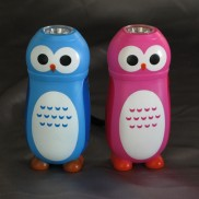 Owl LED Crank Light Torch