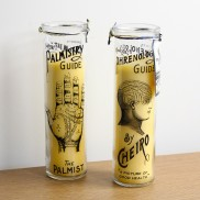 Palm Phrenology Tall Candles (2 Pack)