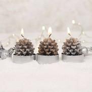 Pine Cone Tealights