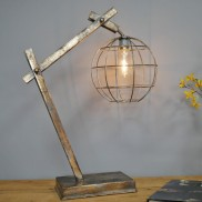 Battery Operated Poise Table Lamp