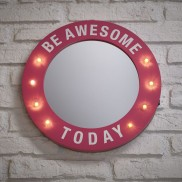Pop Art Mirror - Be Awesome