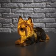 Retro Yorkshire Terrier Lamp