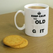 You Old Git Heat Change Mug