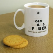 Old as F**ck Heat Change Mug