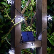 Solar Powered 25 Star String Lights