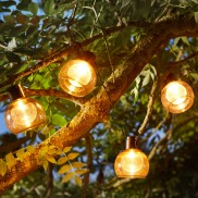 Solar Boule String Lights