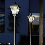 Solar Casablanca Adjustable Lamp Post