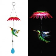Solar Hummingbird Mobile