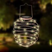 Solar Spiral Lantern