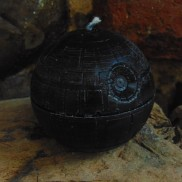 Star Wars Death Star Candle