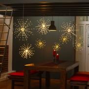 Starburst Copper LED Light