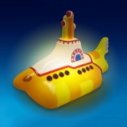 The Beatles Yellow Submarine LED Lamp