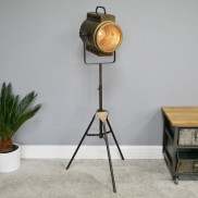 Battery Operated Tripod Floor Lamp