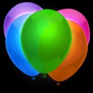 Neon Balloons